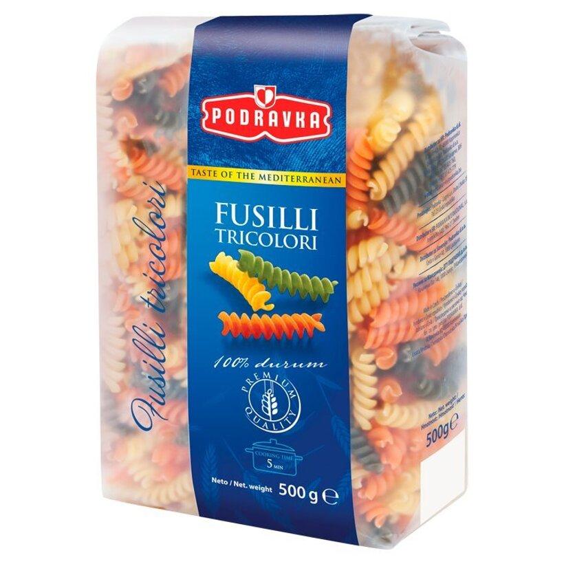 Podravka Fusilli tricolori semolínové cestoviny 500 g
