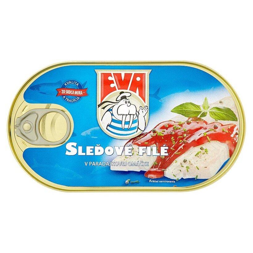 Eva Sleďové filé v paradajkovej omáčke 170 g