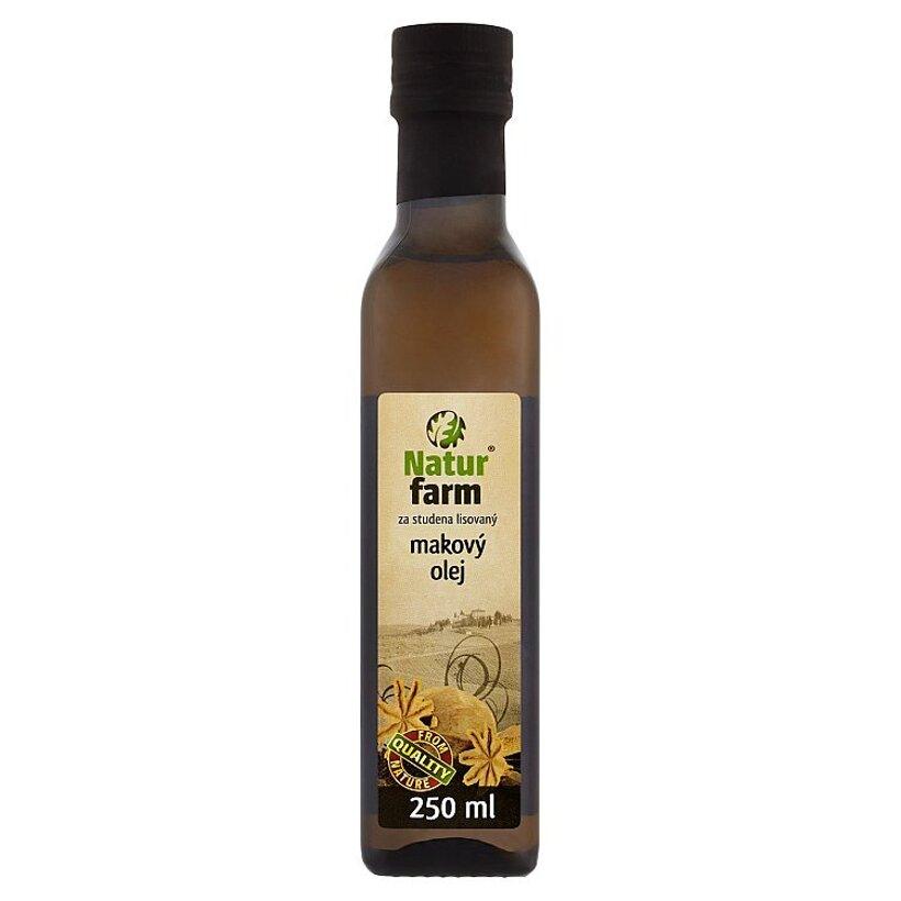 Natur Farm Makový olej za studena lisovaný 250 ml