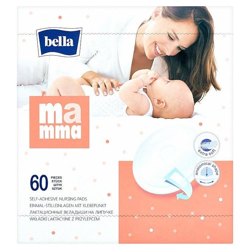 Bella Mamma Jednorazové prsné tampóny 60 ks