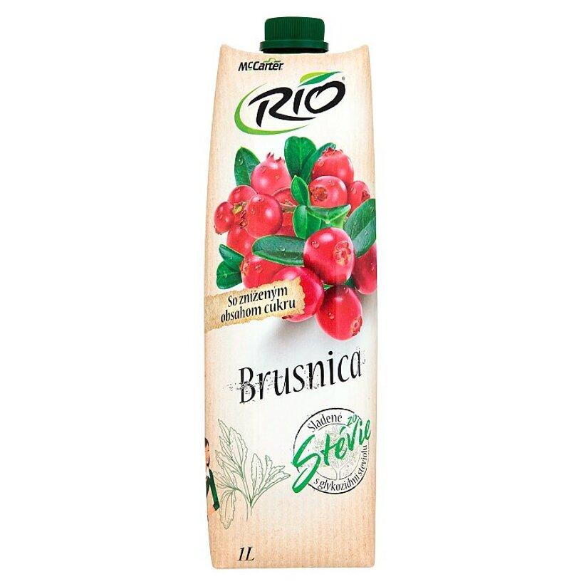Rio Brusnica so zníženým obsahom cukru 1 l
