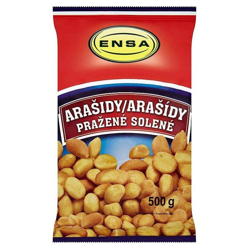 Ensa Arašidy pražené solené 500 g