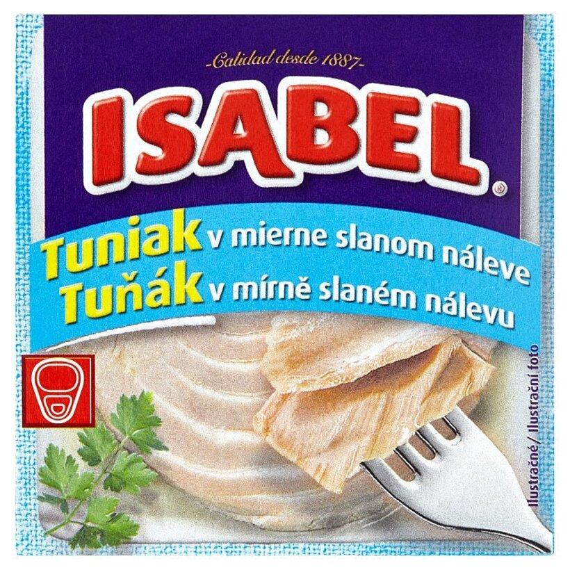 Isabel Tuniak v mierne slanom náleve 80 g