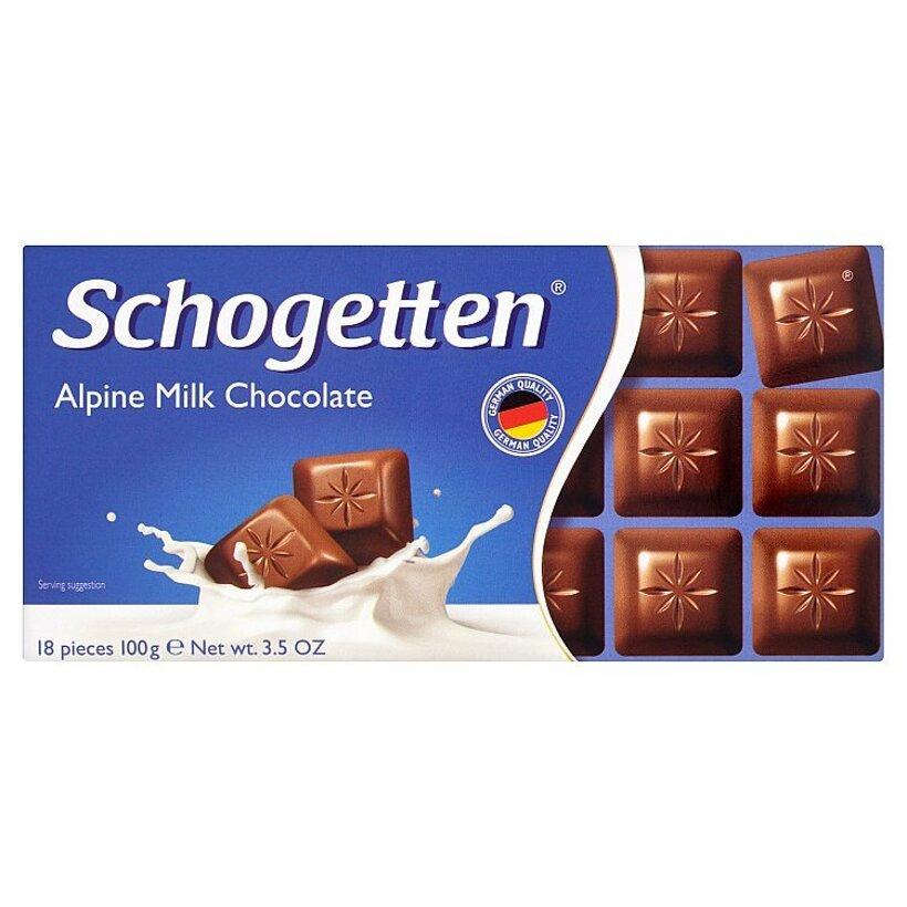 Schogetten Mliečna čokoláda 100 g