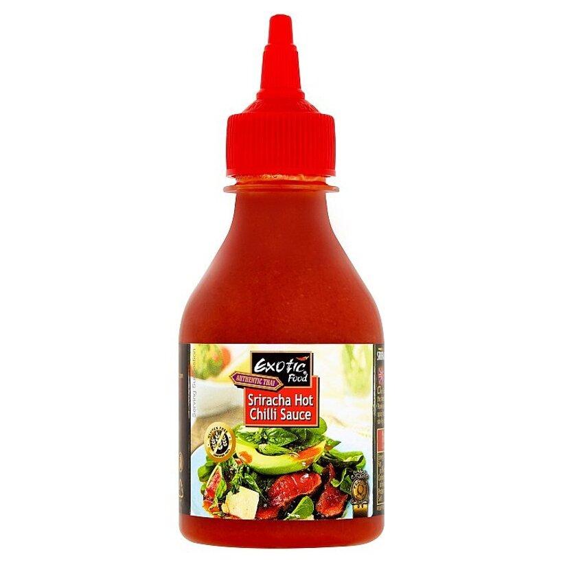 Exotic Food Authentic Thai Sriracha čili ochucovadlo ostro štipľavé 200 ml