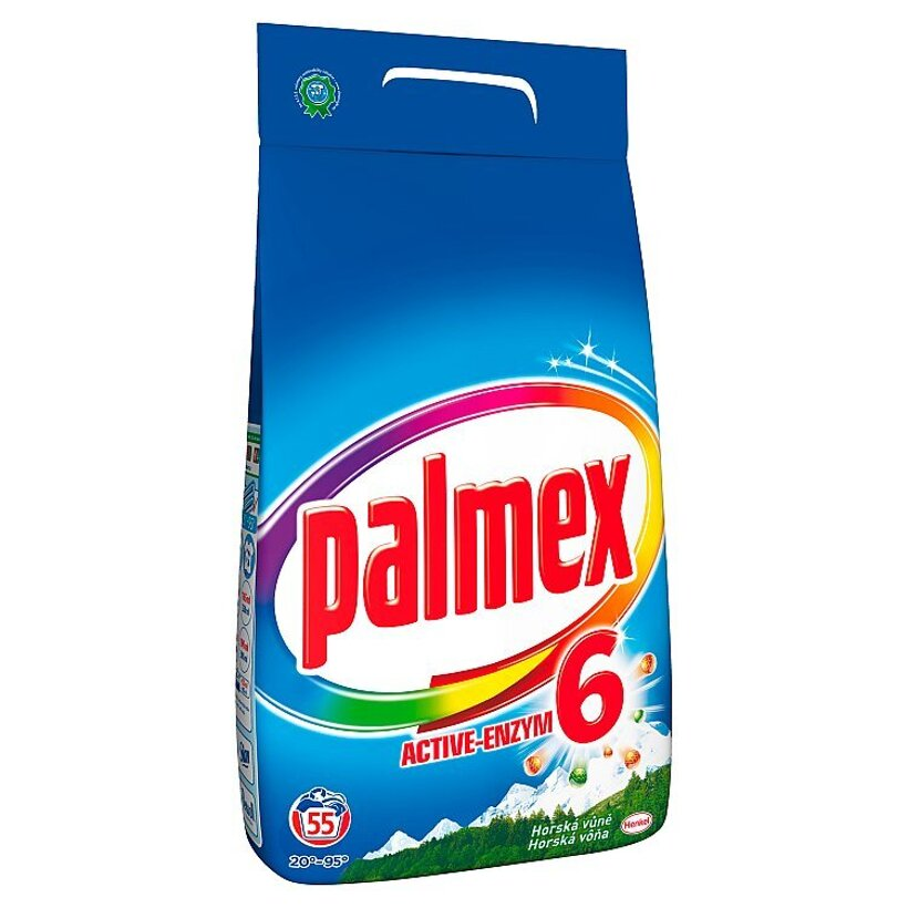 Palmex Horská vôňa univerzálny prací prostriedok 55 praní 3,85 kg