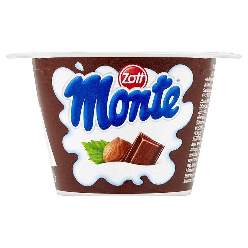 Zott Monte Mliečny dezert čokoládový s lieskovými orieškami 150 g