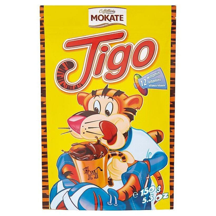 Mokate Caffelleria Tigo instantná zmes na prípravu kakaového nápoja 150 g