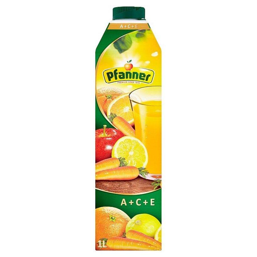 Pfanner ACE viacdruhový ovocno-zeleninový nápoj 1 l