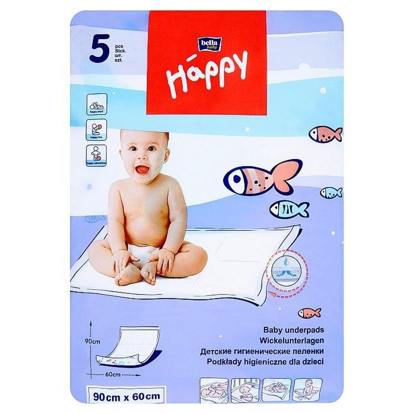 Happy Detské podložky 90 x 60 cm á 5 ks