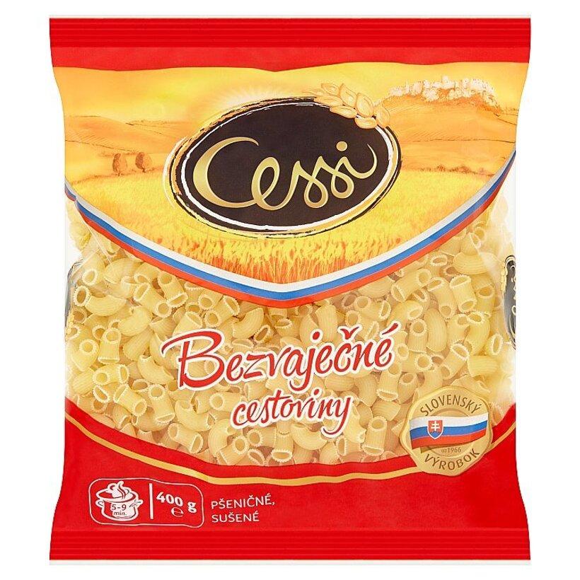 Cessi Bezvaječné cestoviny pšeničné, sušené kolienka 400 g