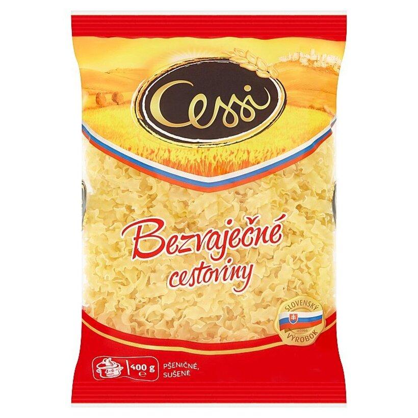 Cessi Bezvaječné cestoviny pšeničné, sušené rezance vlnité 400 g