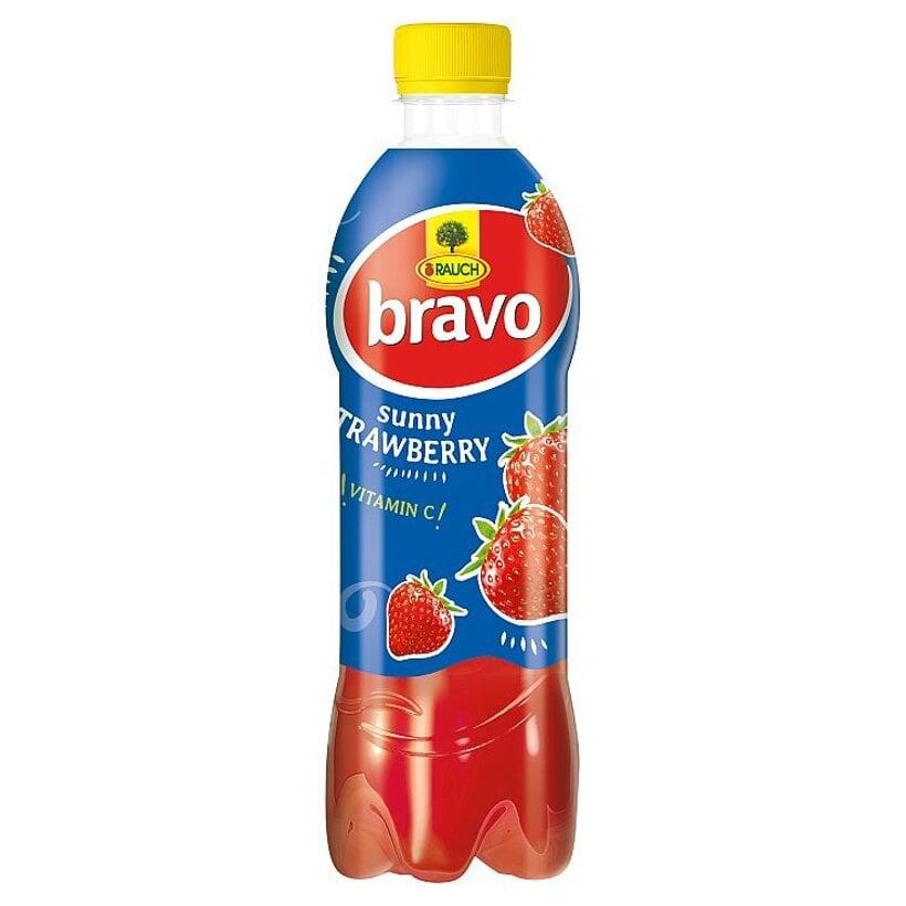 Rauch Bravo Sunny jahoda 0,50 l