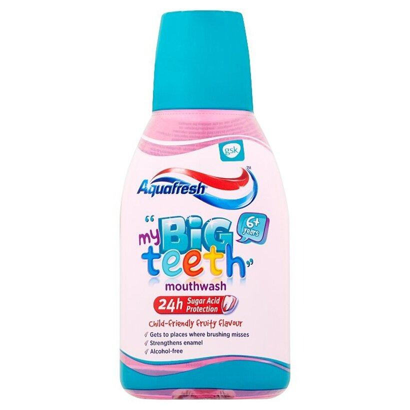 Aquafresh My Big Teeth ústna voda s fluoridom 300 ml