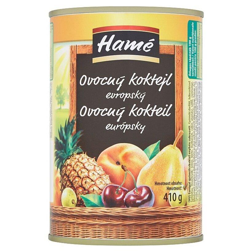 Hamé Ovocný kokteil európsky 410 g