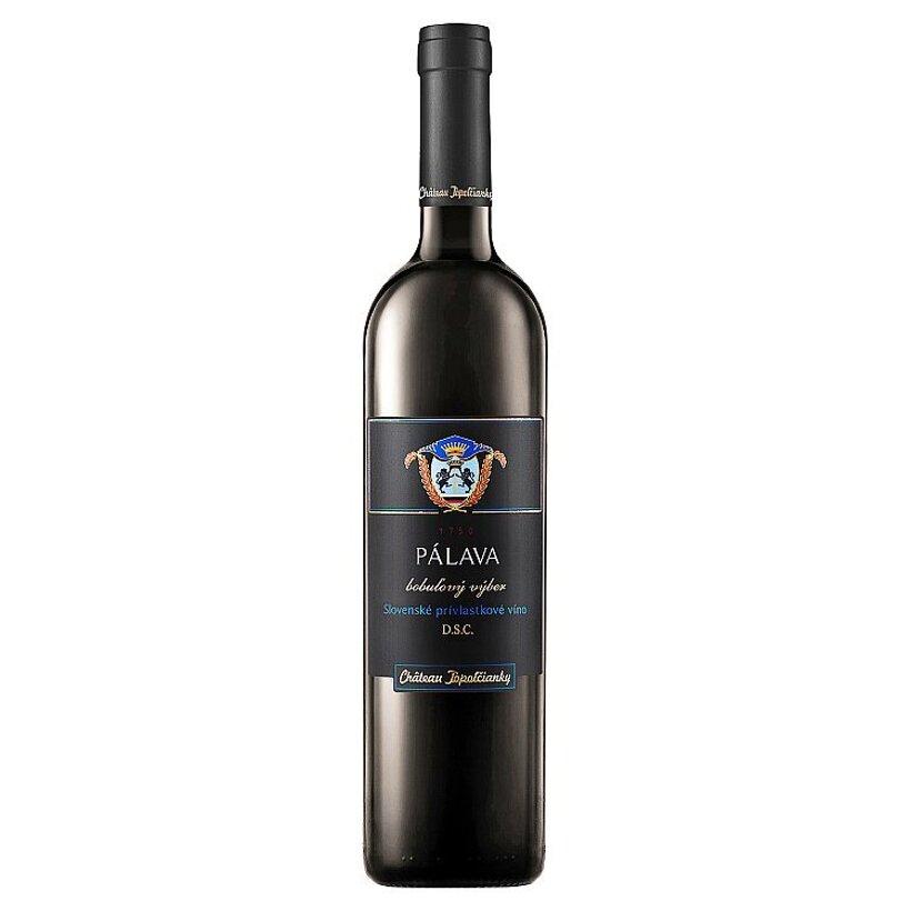 Château Topoľčianky Pálava slovenské prívlastkové víno D.S.C. biele sladké 0,5 l