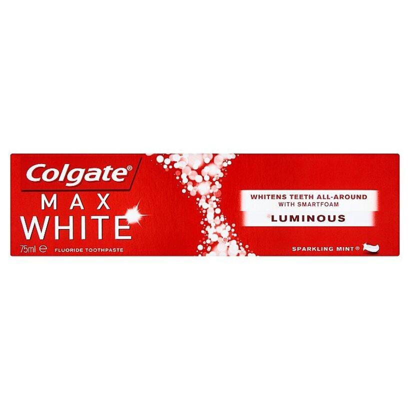 Colgate Max White Luminous Sparkling Mint zubná pasta 75 ml