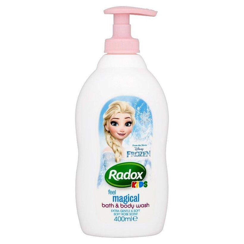 Radox Frozen detský sprchovací gél a pena do kúpeľa 400 ml