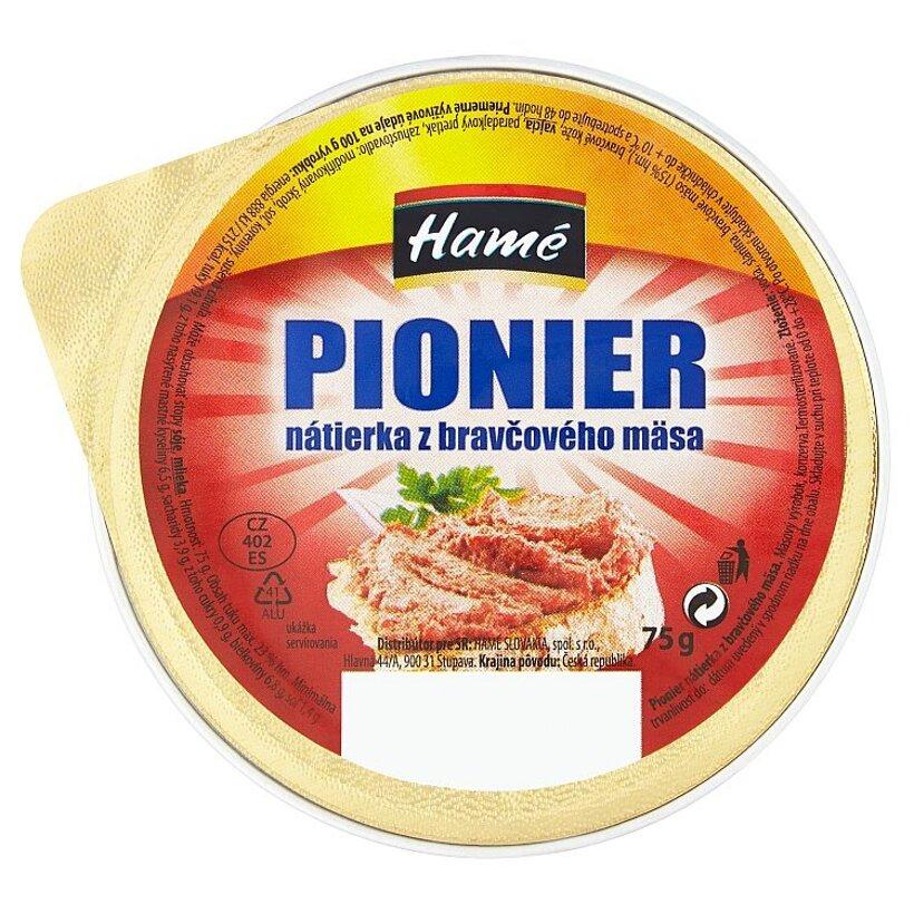 Hamé Pionier nátierka z bravčového mäsa 75 g
