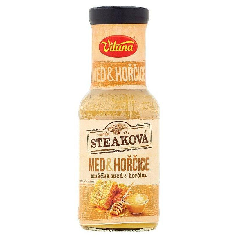 Vitana Steaková omáčka med & horčica 250 ml