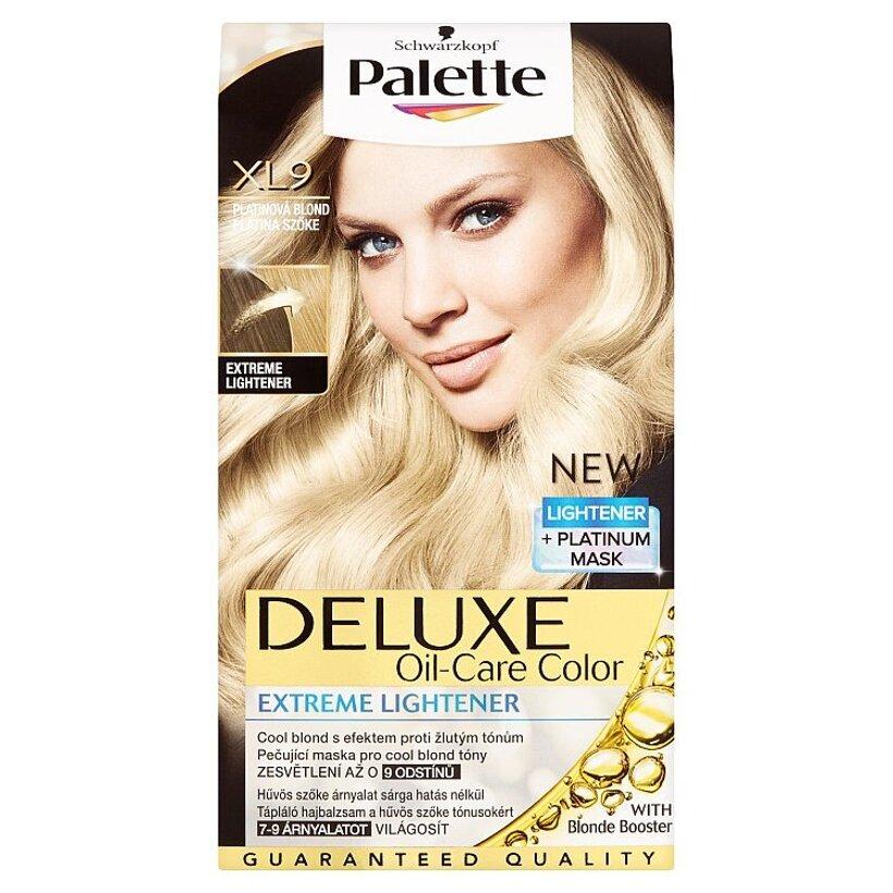 Schwarzkopf Palette Deluxe farba na vlasy Platinový Blond XL9