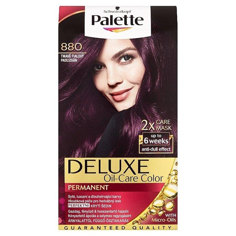 Schwarzkopf Palette Deluxe farba na vlasy Tmavofialový 880