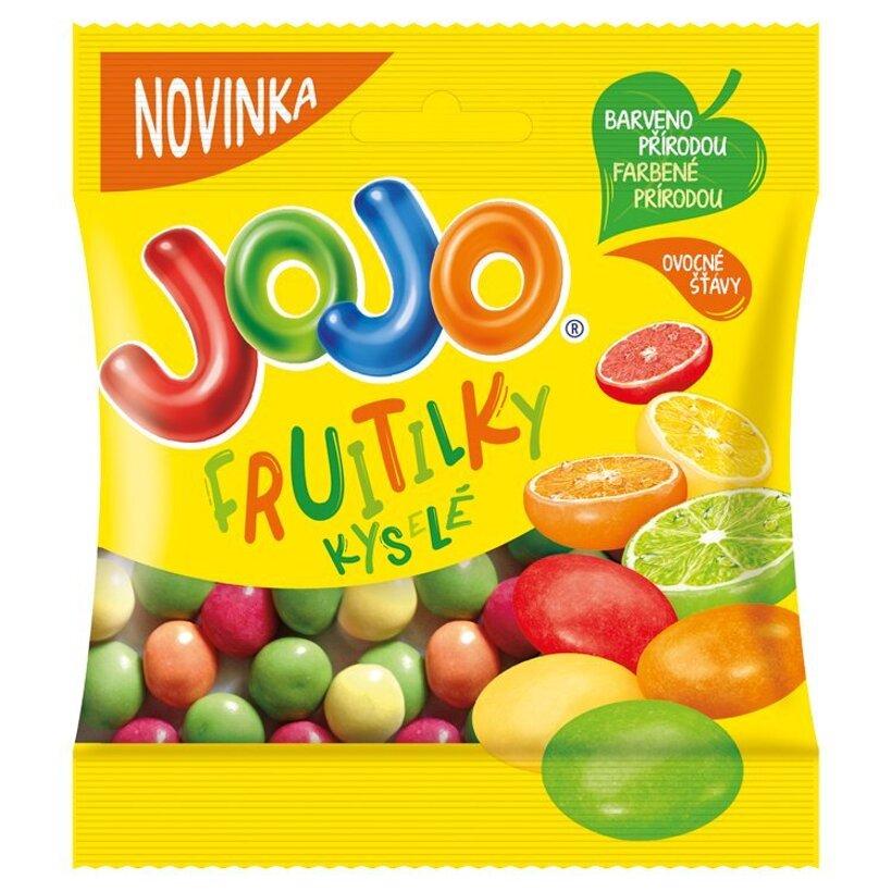 JOJO Fruitilky kyslé 60 g