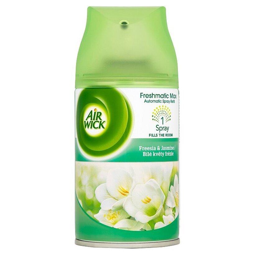 Air Wick Freshmatic Max Náplň do osviežovača vzduchu biele kvety frézie 250 ml