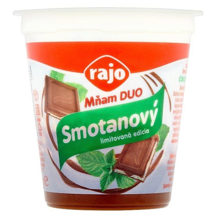 Rajo Mňam Duo Smotanový jogurt čokoláda - mäta 145 g