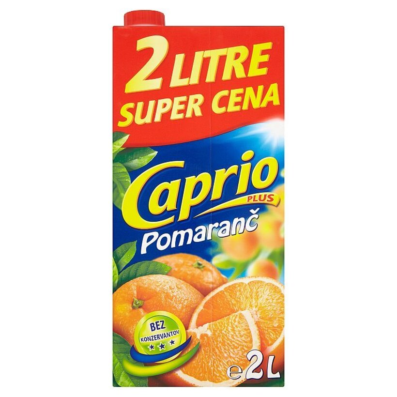 Caprio Plus Pomaranč 2 l