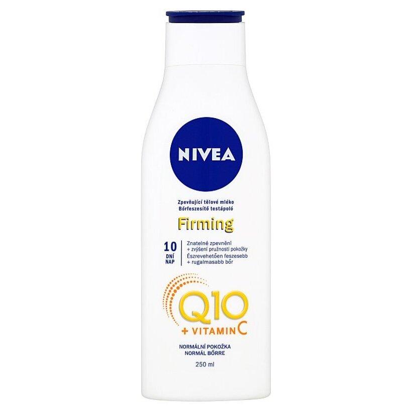 Nivea Q10 + Vitamin C Spevňujúce telové mlieko 250 ml