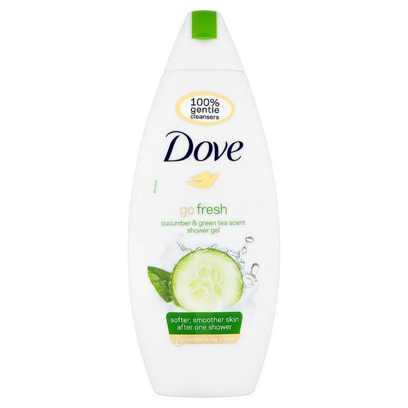 Dove Go Fresh Vyživujúci sprchovací gél uhorka a zelený čaj 250 ml