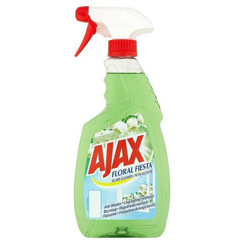Ajax Floral Fiesta Spring Flowers čistič okien 500 ml