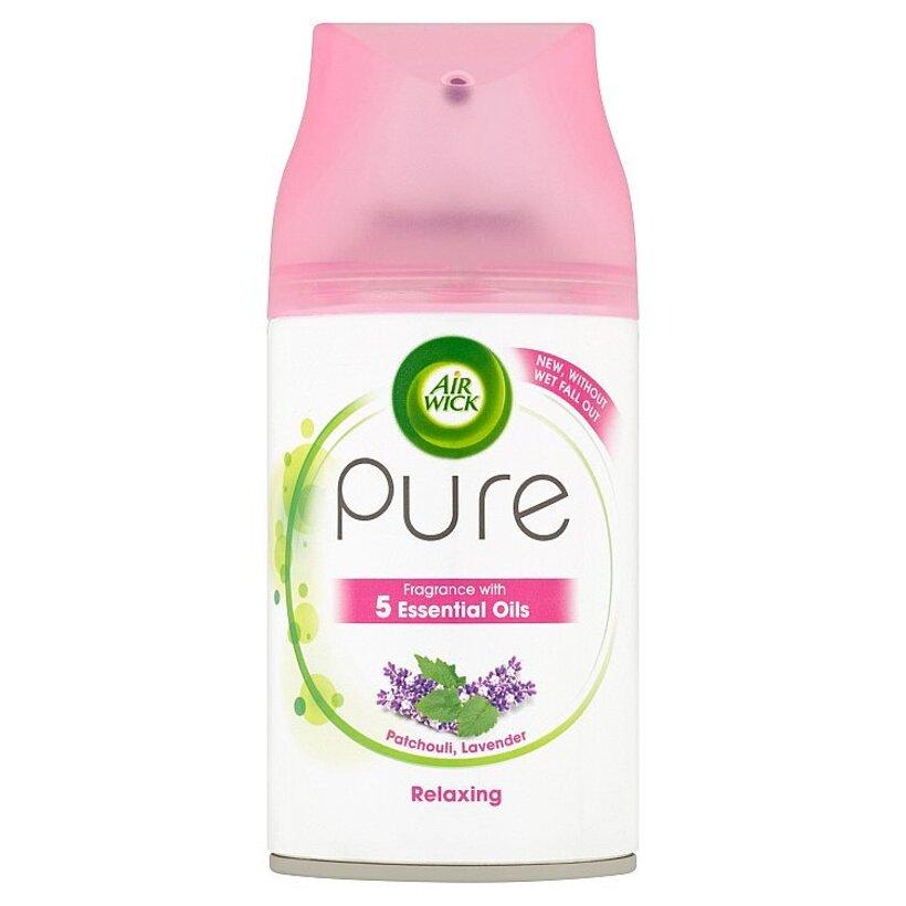 Air Wick Freshmatic Pure náplň do osviežovača vzduchu levanduľa a pačuli 250 ml