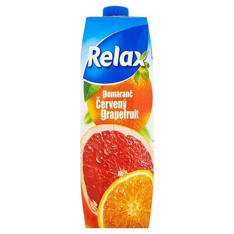 Relax Pomaranč červený grapefruit 1 l