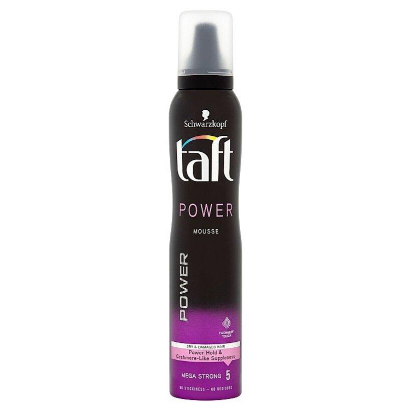 Taft Power Cashmere penové tužidlo Mega Strong 5 200 ml