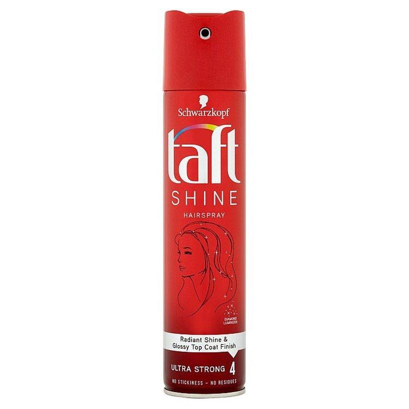 Taft Shine lak na vlasy Ultra Strong 4 250 ml