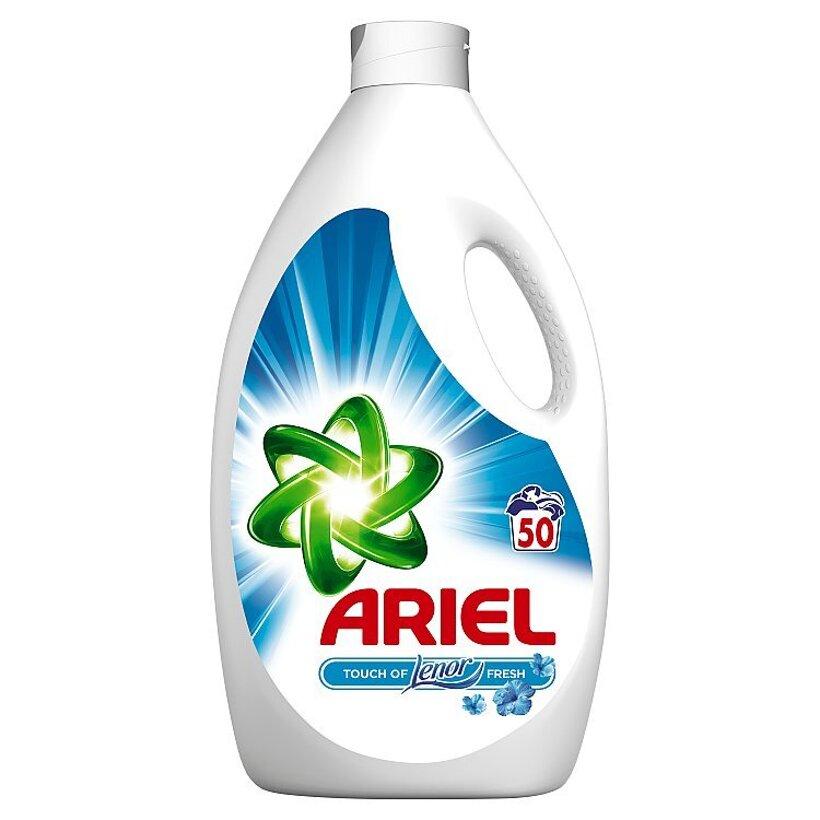 Ariel Touch Of Lenor Fresh Tekutý Prací Prostriedok 3,25 l Na 50 Praní