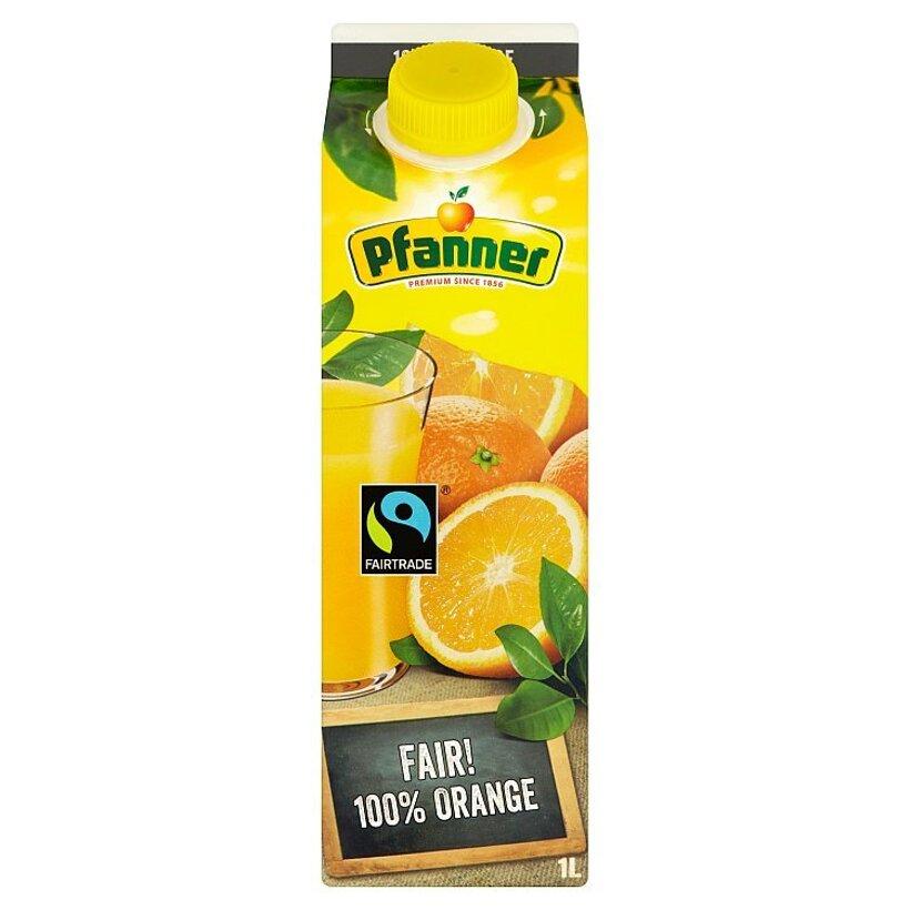 Pfanner 100% pomarančová šťava 1 l
