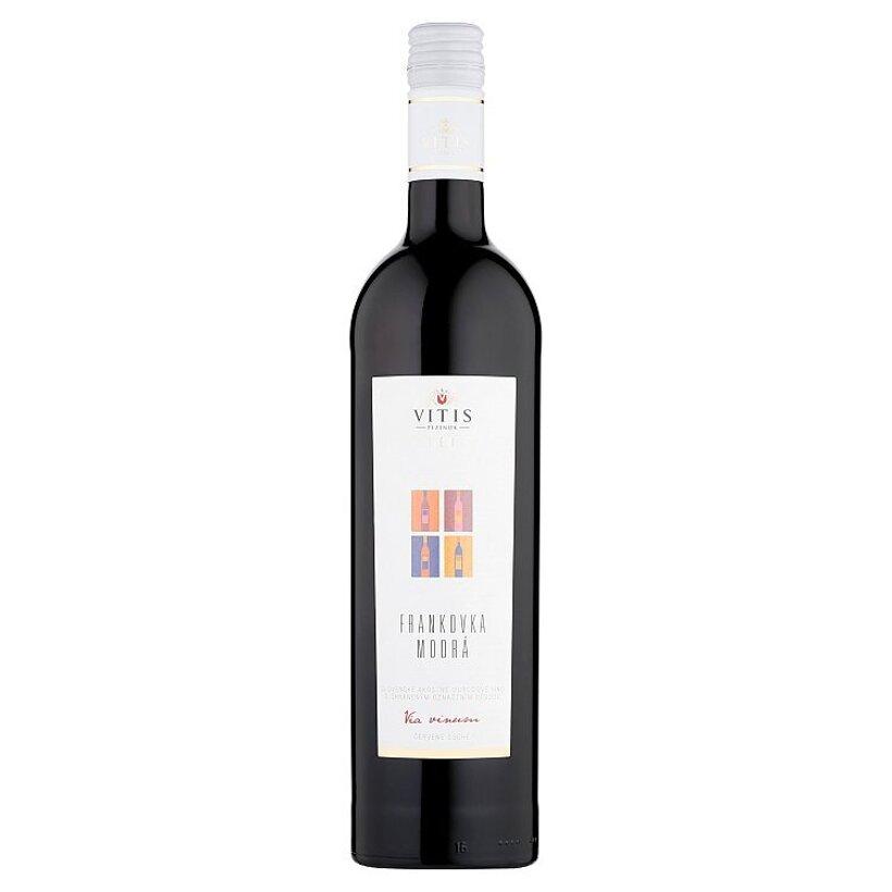 Vitis Pezinok Galéria Frankovka modrá akostné odrodové víno červené suché 0,75 l