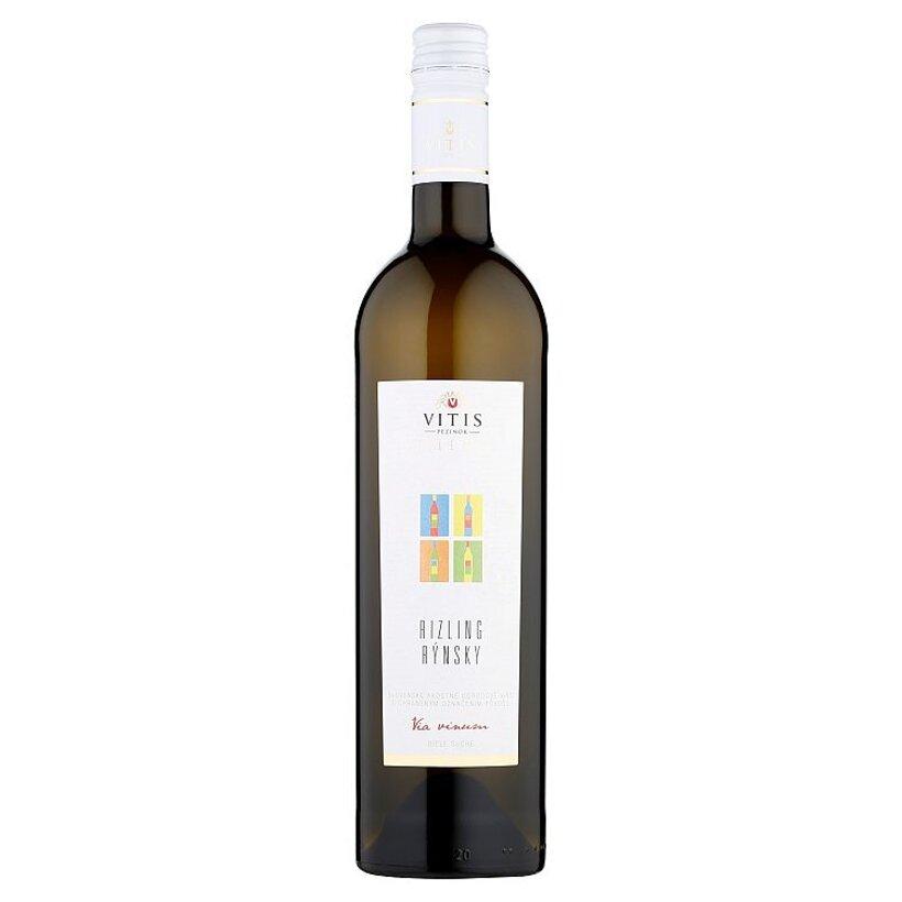 Vitis Pezinok Galéria Rizling rýnsky akostné odrodové víno biele suché 0,75 l