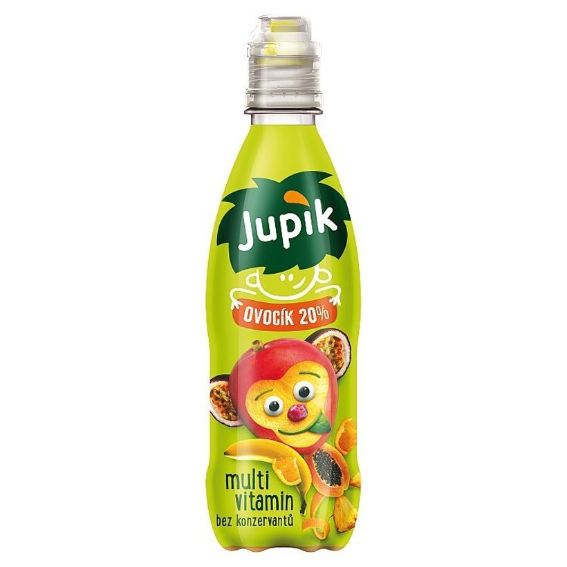 Jupík Ovocík 20% Multivitamín 330 ml