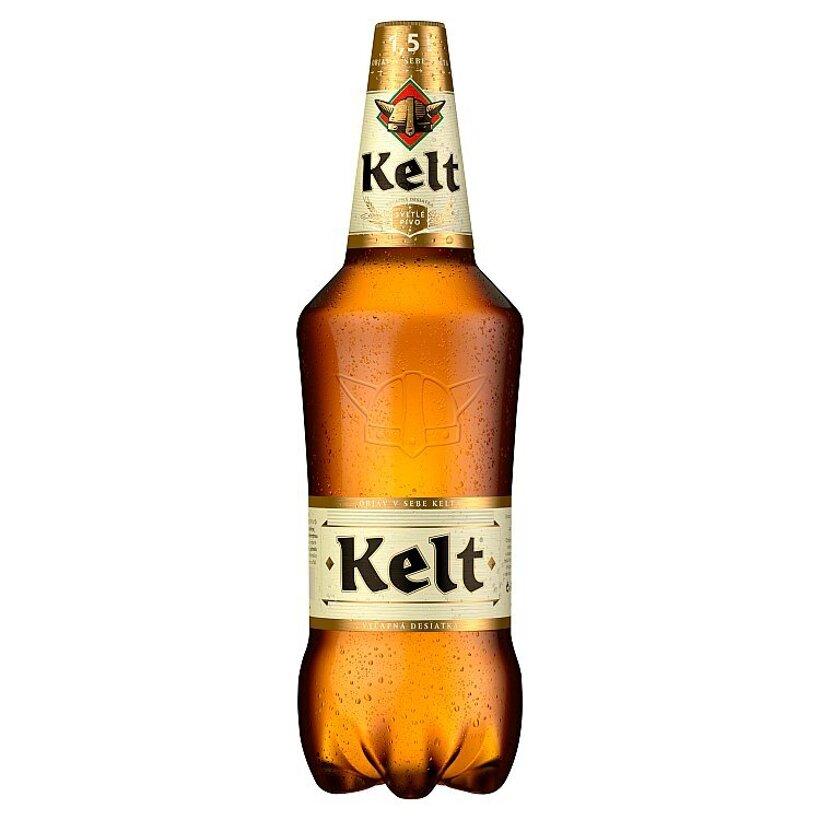 Kelt Svetlé výčapné pivo 10% 1,5 l