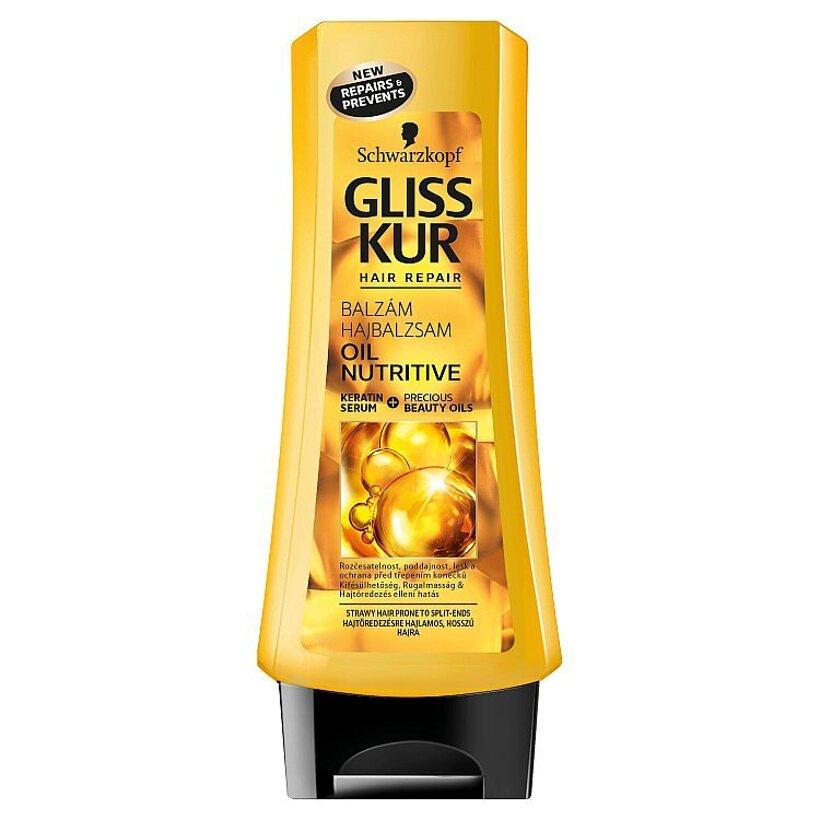 Gliss Kur kondicionér Oil Nutritive 200 ml