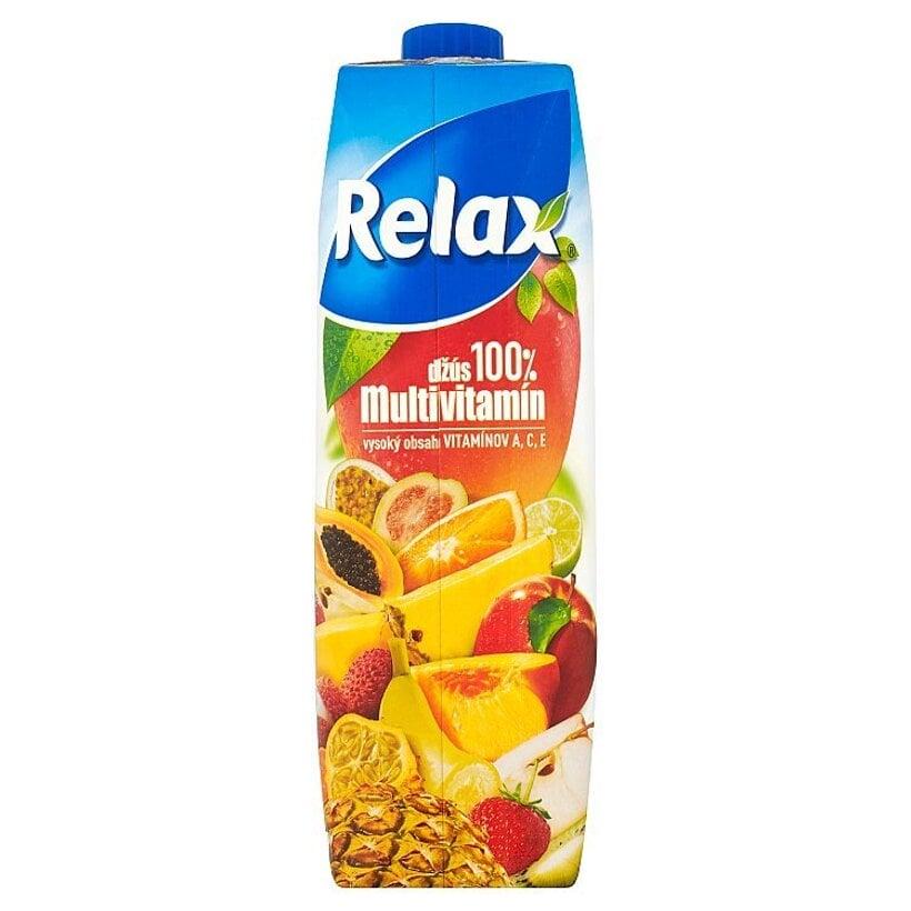 Relax Džús 100% multivitamín 1 l