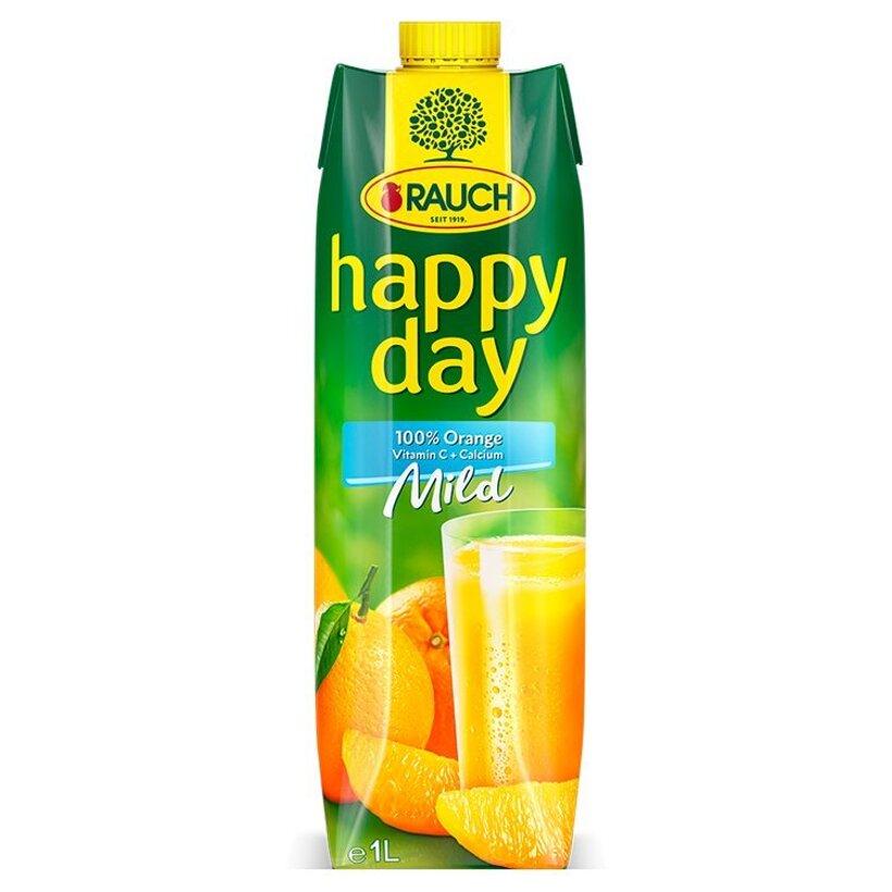 Rauch Happy Day Mild 100% pomarančová šťava 1 l