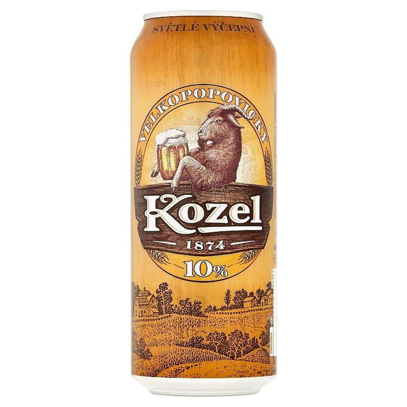Velkopopovický Kozel  pivo výčapné svetlé 500 ml