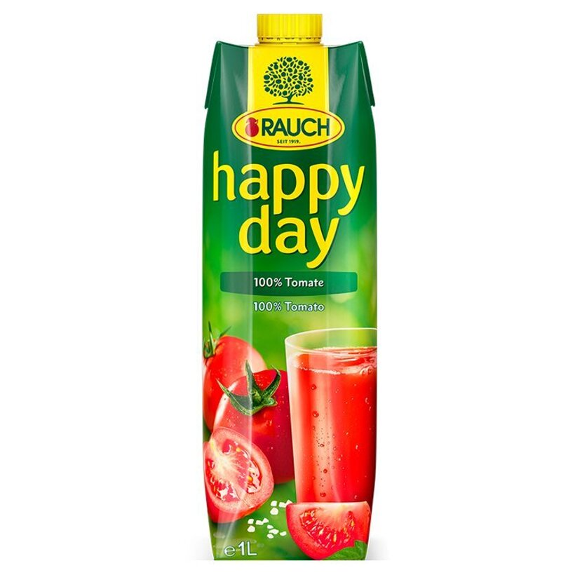 Rauch Happy Day 100% paradajka 1 l