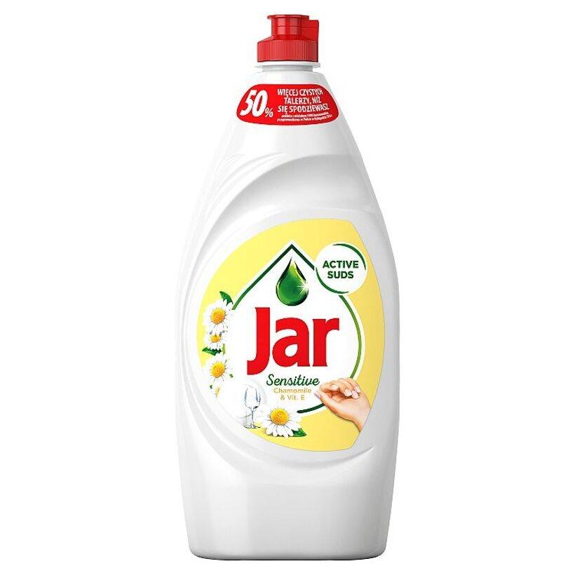 Jar Sensitive Chamomile & Vitamin E Prostriedok Na Umývanie Riadu, 900 ml