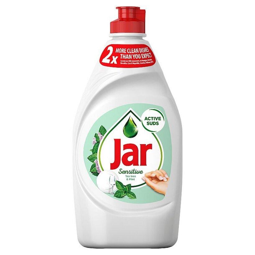 Jar Sensitive Teatree & Mint Prostriedok Na Umývanie Riadu, 450 ml